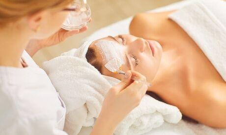 PEELING AZ VISAGES. CHEZ CENTRE ESTHÉTIQUE SABLONS Soin du visage peeling de 30 min ou 1h pour 1 personne avec Peeling AZ Visages