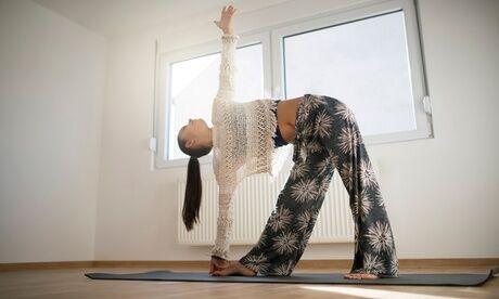 Yoga Lux Solis 3 ou 5 cours de yoga de 2 heures à Nice ou en visio avec Yoga Lux Solis