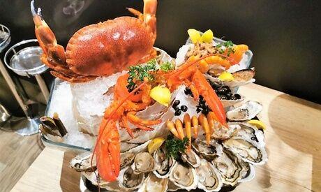 L'Ostrea sur Mer Plateau de fruits de mer pour 2 ou 4 personnes avec le restaurant L'Ostrea sur Mer
