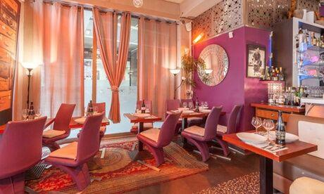 Le Ménara Dîner oriental avec tajine ou couscous pour 2, 3 ou 4 personnes au restaurant La Ménara