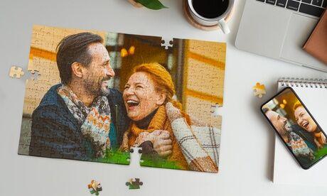 Printerpix 1 ou 2 puzzle(s) personnalisé(s) taille S, M , L ou XL sur le site d'impression en ligne Printerpix