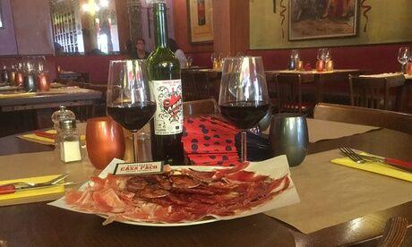 Casa Paco Planche de charcuterie et fromage espagnol ou tapas avec option alcool pour 2 ou 4 personnes au restaurant Casa Paco