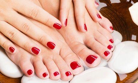 secret de beaute Beauté des mains et/ou des pieds et pose de vernis semipermanent ou de gel coloré ou french chez Secret de Beauté