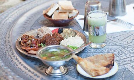 La Cantine de Nour d'Égypte Menu égyptien le midi ou le soir pour 2 personnes à La Cantine de Nour d'Égypte