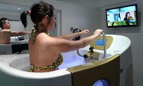 LES BAINS DE PROVENCE 3 ou 6 séances d'aquabiking de 30 minutes chacune en cabine individuelle chez Les Bains de Provence