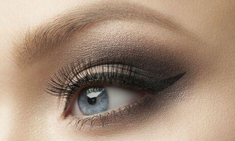 Peau d'ange Maquillage semi-permanent de l'eye-liner supérieur/inférieur et/ou sourcils complets, à l'institut Peau d'Ange