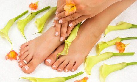 Gold Centre De Beaute Indien Beauté des mains et/ou des pieds, avec pose du vernis semi-permanent, chez Gold Centre De Beaute Indien