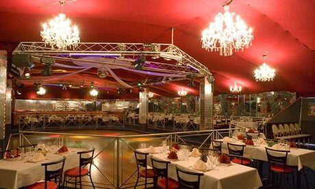 le tiffany Soirée-repas dansant à thèmes pour 2, 4 ou 6 personnes au Tiffany