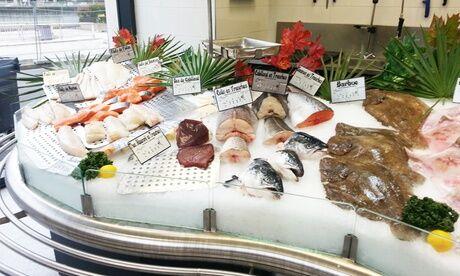 Poissonnerie de l'île de la jatte Bon d'achat donnant droit à sur les produits de la poissonnerie de l'île de la Jatte