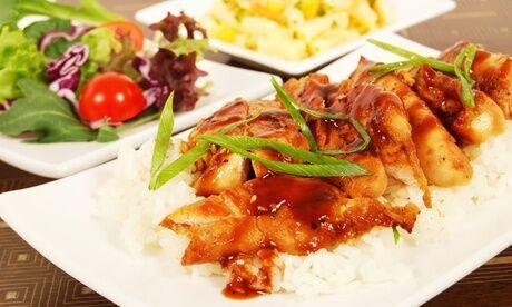 CHINATOWN Buffet asiatique à volonté pour 2 ou 4 personnes le midi au restaurant Chinatown