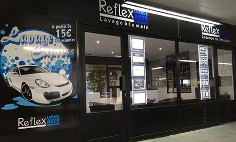 Reflex Lavage Auto Un lavage prestige auto intérieur et extérieur avec cire de protection chez Reflex Lavage Auto