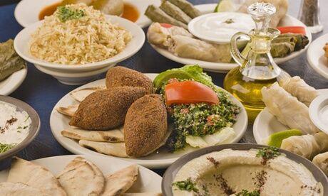 """Le Libanais """"Menu découverte"""" ou """"Menu gourmand"""" pour 2 personnes, au restaurant Le Libanais"""