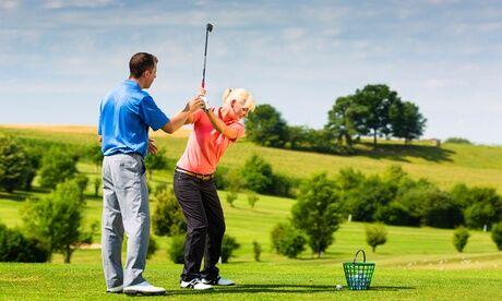 Daily Golf de Saint-Ouen L'aumône 5 leçons d'apprentissage ou de perfectionnement au golf pour 1 ou 2 personnes au Daily Golf