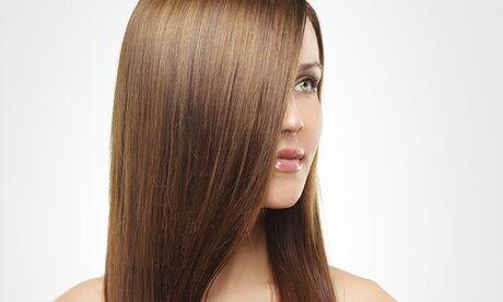 Ozana Lissage brésilien à la kératine pour tout type de cheveux au salon de coiffure Ozana