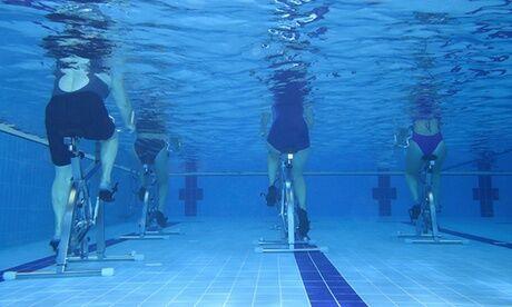 O-gym - Poitiers 5, 12 ou 18 séances d'aquabike ou d'aquagym de 30 min chacune à la salle de fitness O-gym - Poitiers