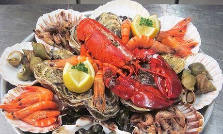 """Poissonnerie Giacosa Plateau de fruits de mer """"Le Rubis"""", """"Le Saphir"""" ou """"Le Jade"""" pour 2 ou 4 personnes à la poissonnerie Giacosa"""