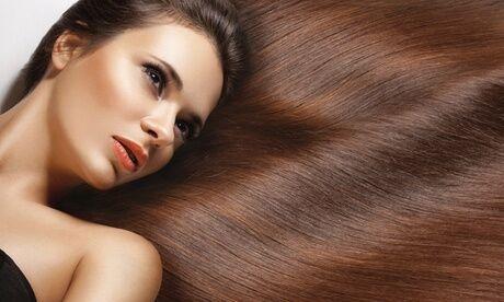 KRISTIN'S Lissage brésilien à la kératine sans formol au salon de coiffure Kristin's