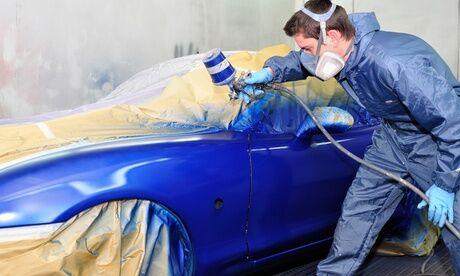 Cars Automobile Peinture sur un élément de carrosserie chez Cars Automobile