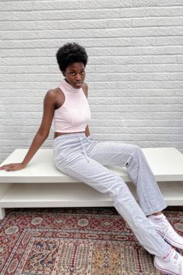 Juicy Couture - Pantalon de survêtement\u00a0en velours argent\u00a0- taille: M
