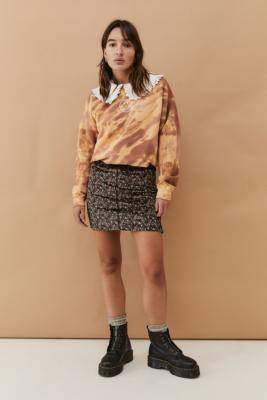 Urban Renewal Urban Outfitters Archive Micro Floral Mini Skirt- taille: L