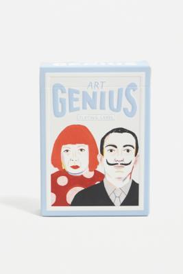 Urban Outfitters Cartes à jouer génies artistiques- taille: ALL