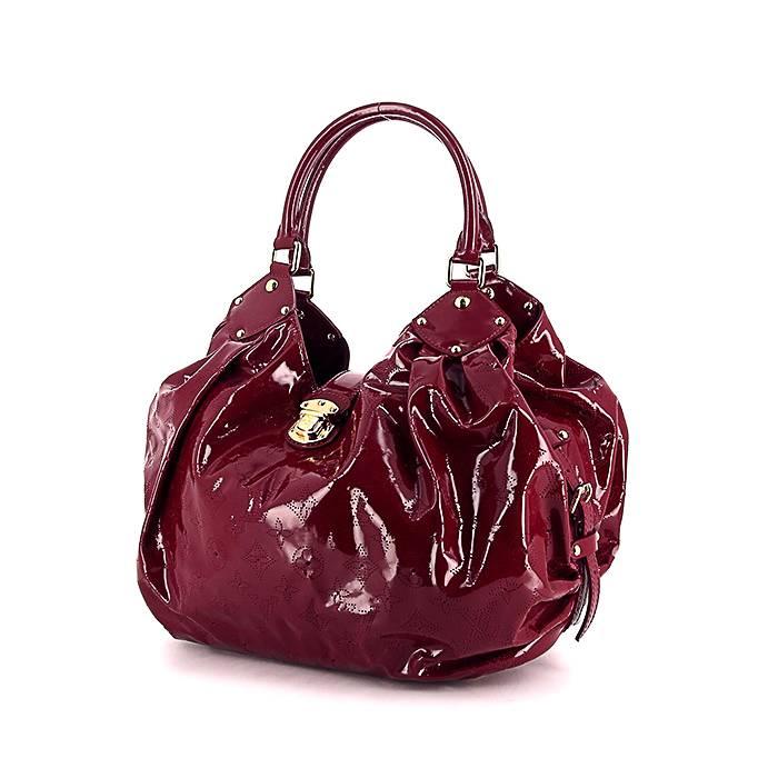 Louis Vuitton Sac à main Louis Vuitton en cuir vernis monogram bordeaux