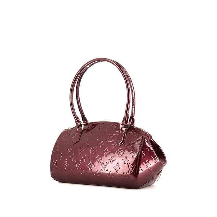 Louis Vuitton Sac porté épaule ou main Louis Vuitton Sheerwood en cuir verni