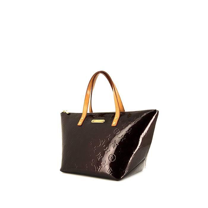 Louis Vuitton Sac à main Louis Vuitton Bellevue petit modèle en cuir verni