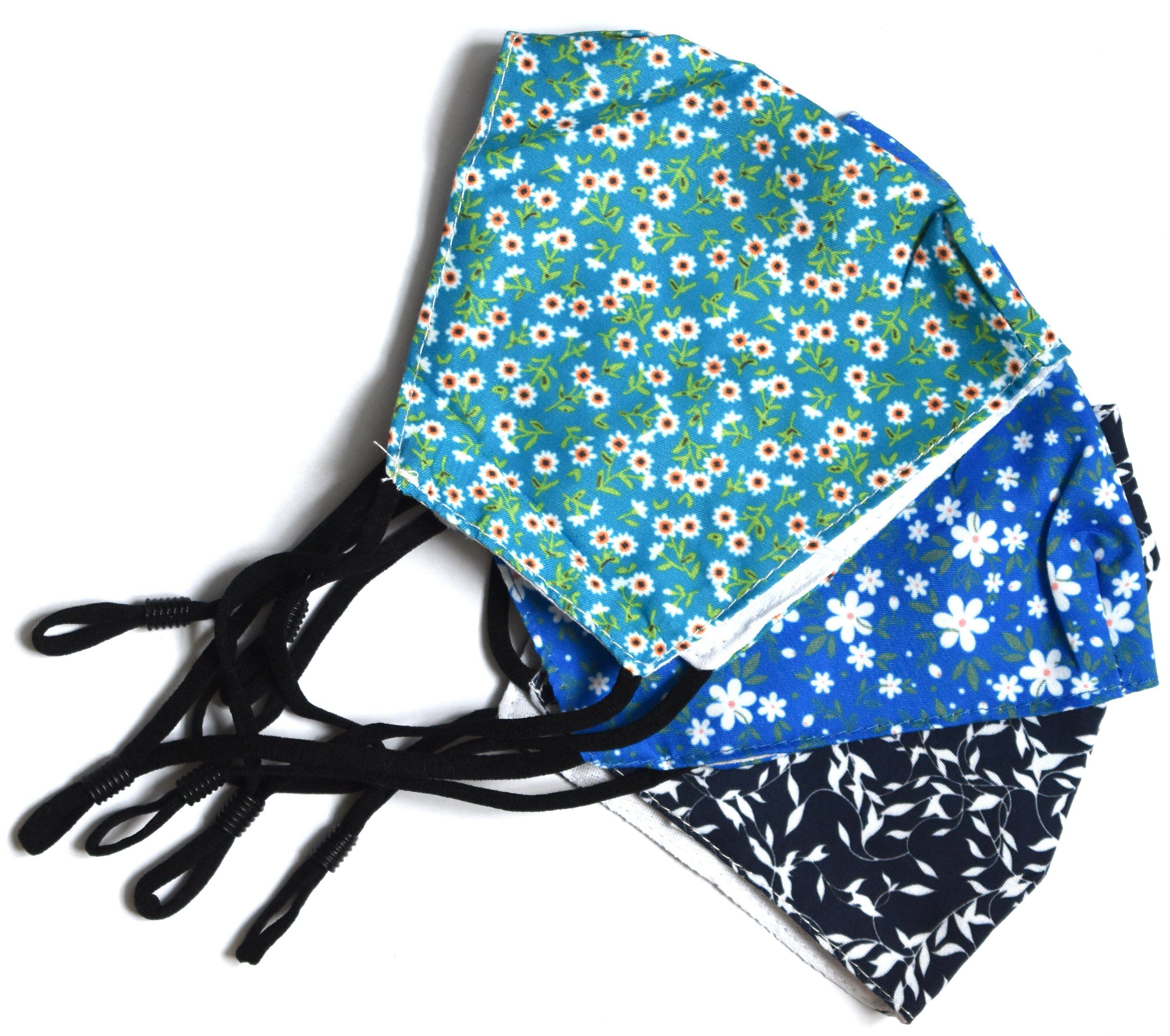 MASQUES DIRECT 2 Masques barrières lavables ergonomiques Liberty (coloris au choix)