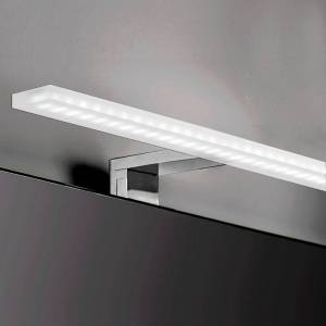 Silumen Applique LED pour miroir de salle de bain IP44 Ø800 mm avec diffuseur prismatique - Publicité