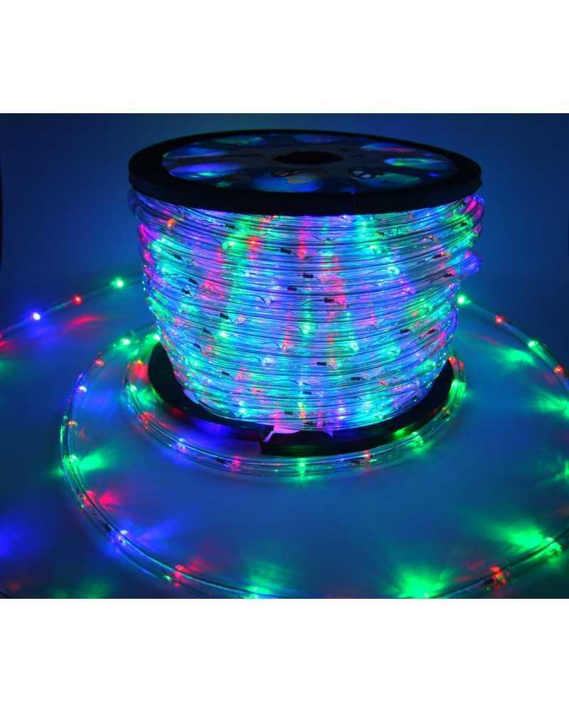 Silumen Guirlande lumineuse LED 220V IP65 MULTICOULEUR (Au mètre)