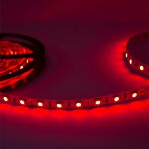 Ruban Led 12v 5m 5050 Rouge Ip20 60led/m - Publicité