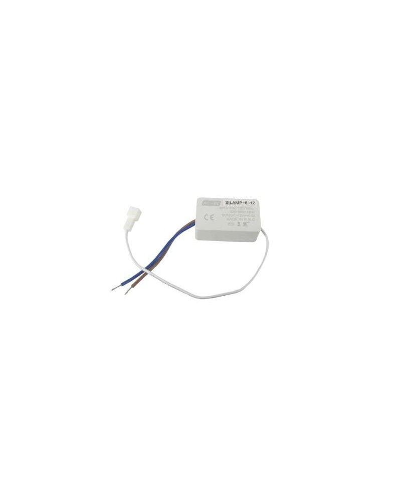 Silumen Transformateur 220V 12V 6W DC 0.5A pour Profilé LED Intégré