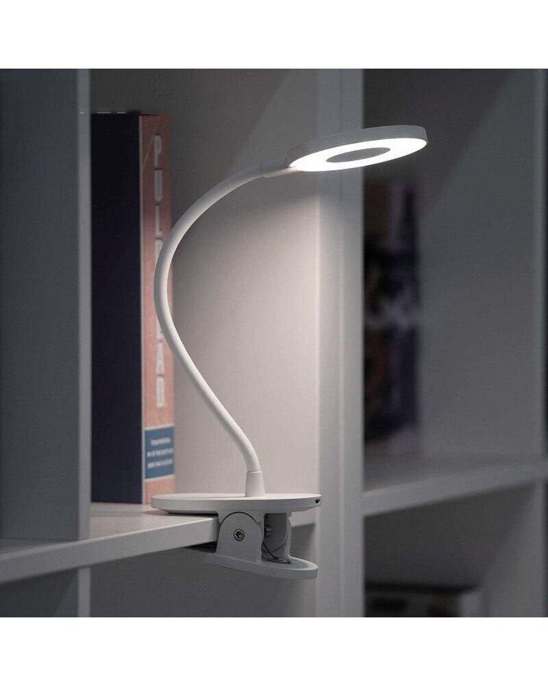Silumen Lampe De Bureau Yeelight Rechargeable À Pince, Tactile Variable (+usb)