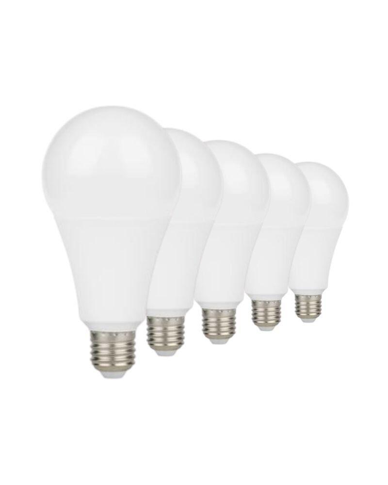 Silumen Ampoule E27 Led 5w A55 220v 230° (pack De 5) Blanc Neutre 4200k - 5500k