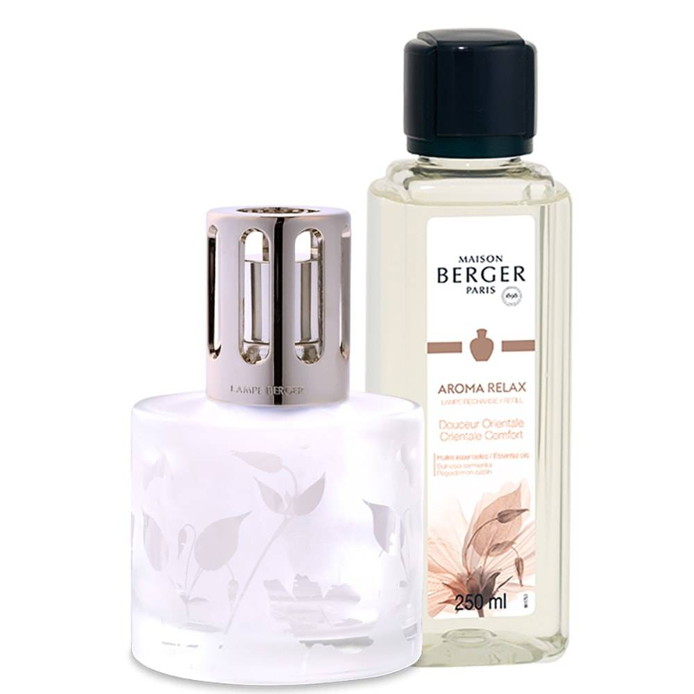 Maison Berger Aroma coffret Lampe Aroma Relax + recharge parfum 250ml Relax