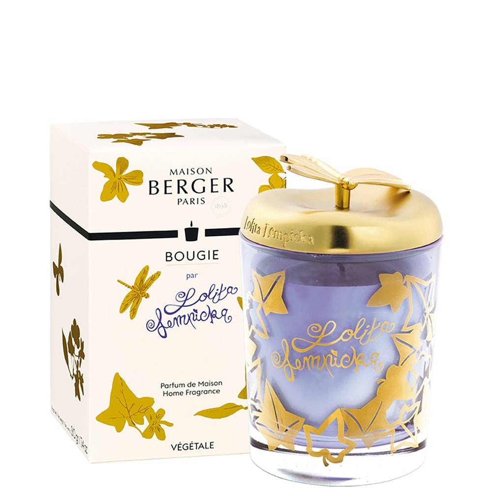 Maison Berger Lolita lempicka Bougie parfumée 240 gr parme et or Lolita Lempicka