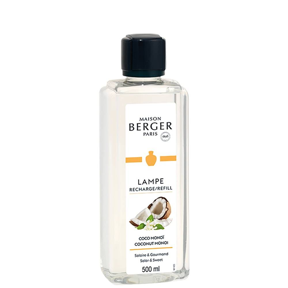 Maison Berger Catalyse 500ml recharge parfum de maison pour Lampe Berger 500ml Coco Monoï