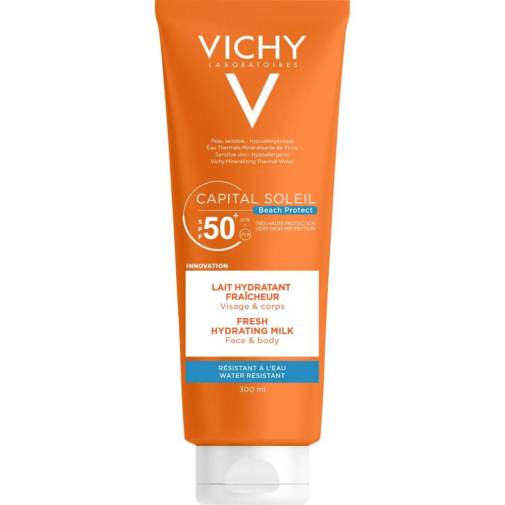 Vichy Solaires Ideal Soleil Lait Hydratant Ip50+ 300 ml