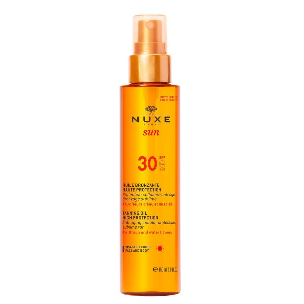 Nuxe Soins solaires SPF30 HUILE VISAGE ET CORPS 150ML