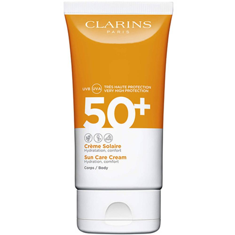 Clarins Crème Solaire Corps UVA/UVB 50+ Crème solaire hydratante, confort