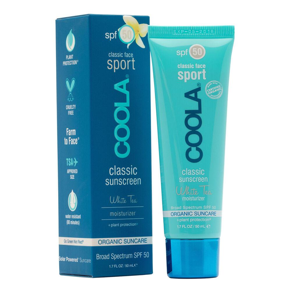 Coola Crème Solaire Visage SPF50 au Thé Blanc Protection solaire visage