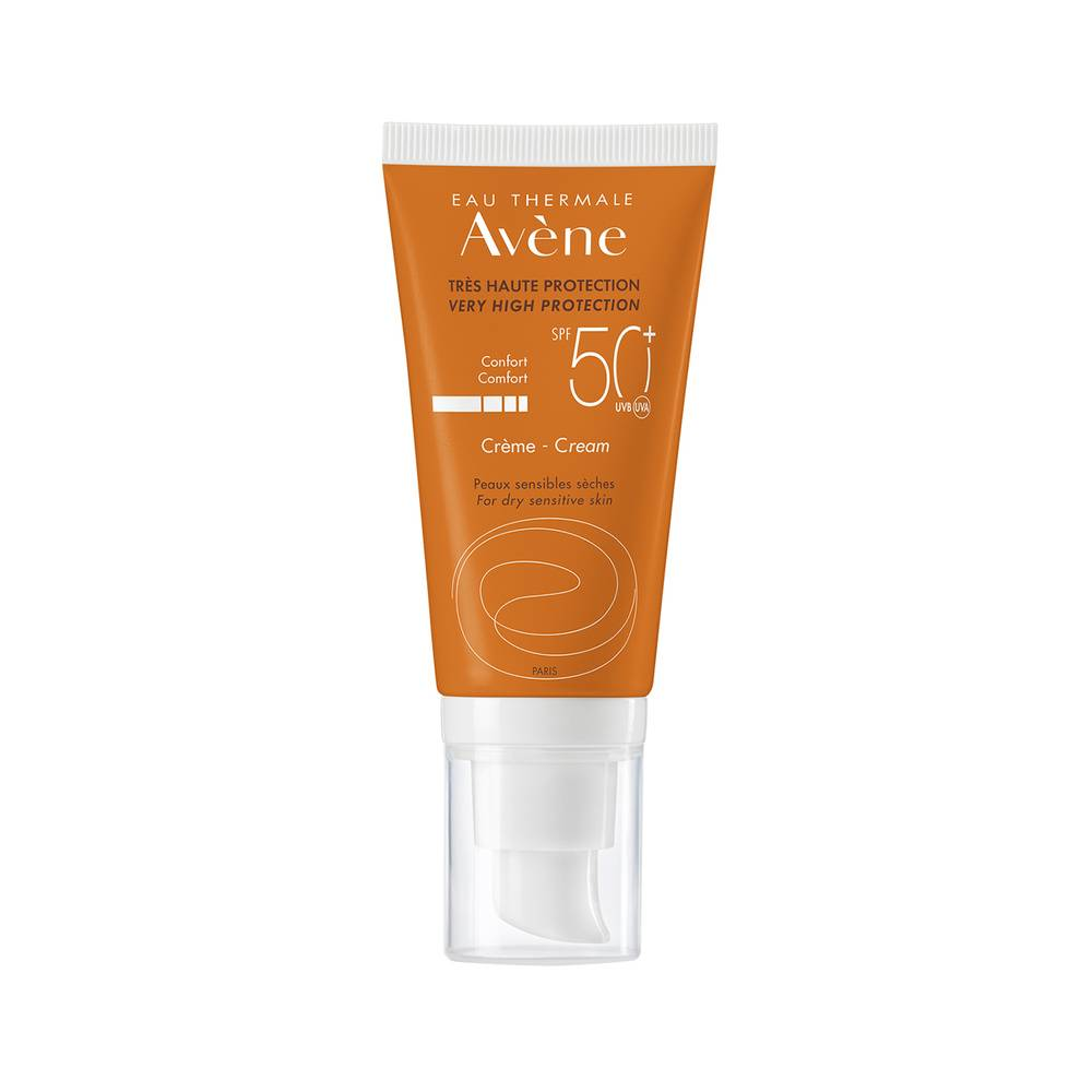 Eau thermale Avene SOLAIRE Crème 50+ 50ml Soin solaire