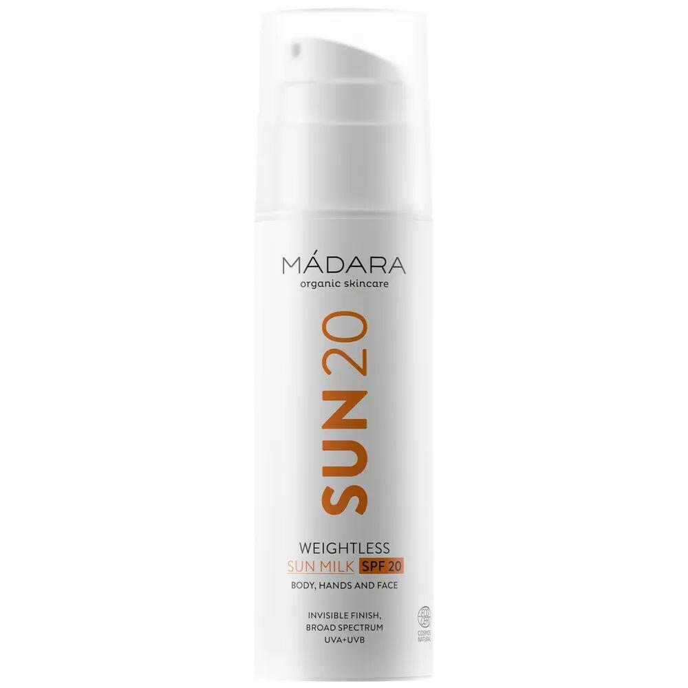 Madara Weightless Sun Milk Spf20 Lait Solaire Ultra Léger Protection Spf20
