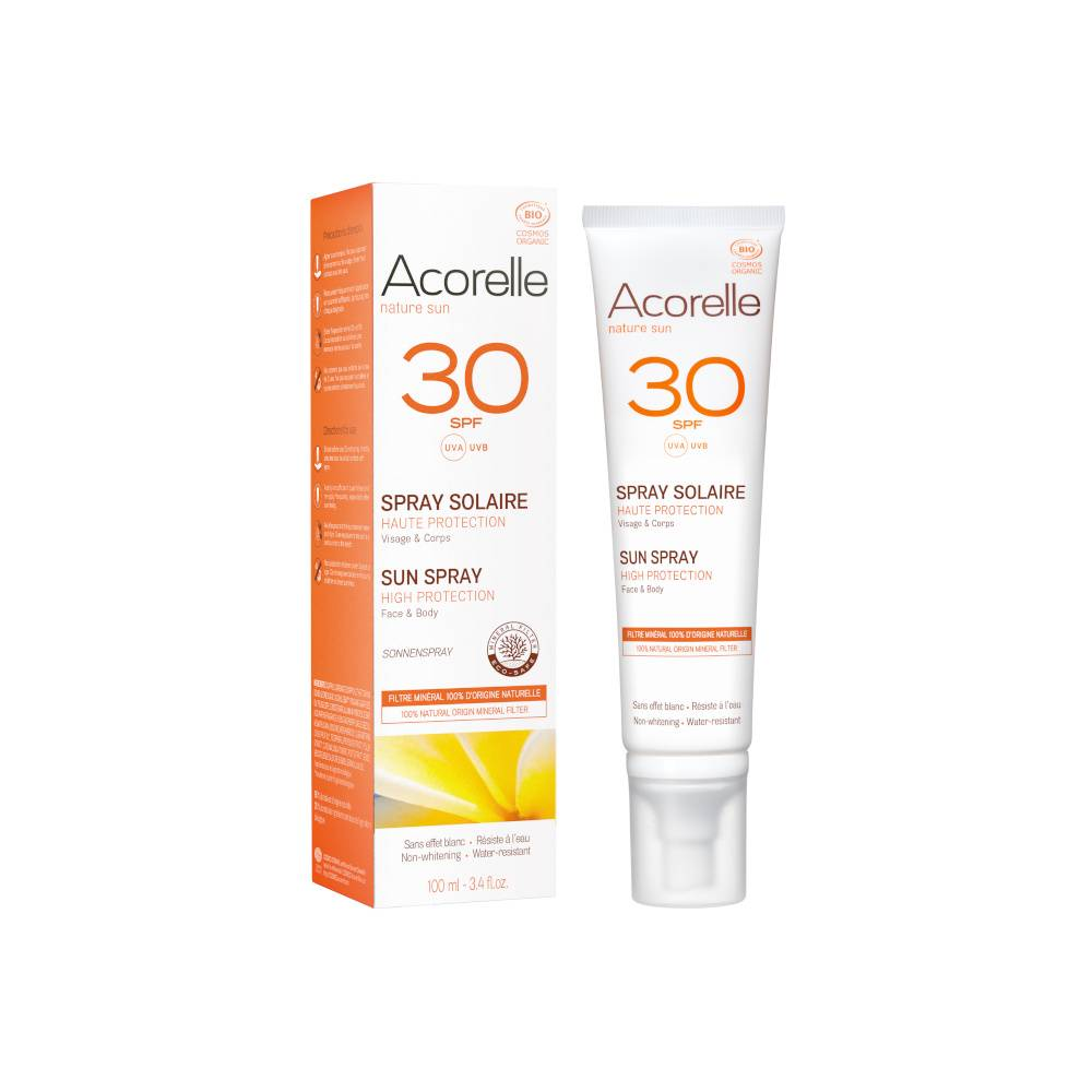 acorelle Produits Solaires Spray Solaire SPF30 100ML