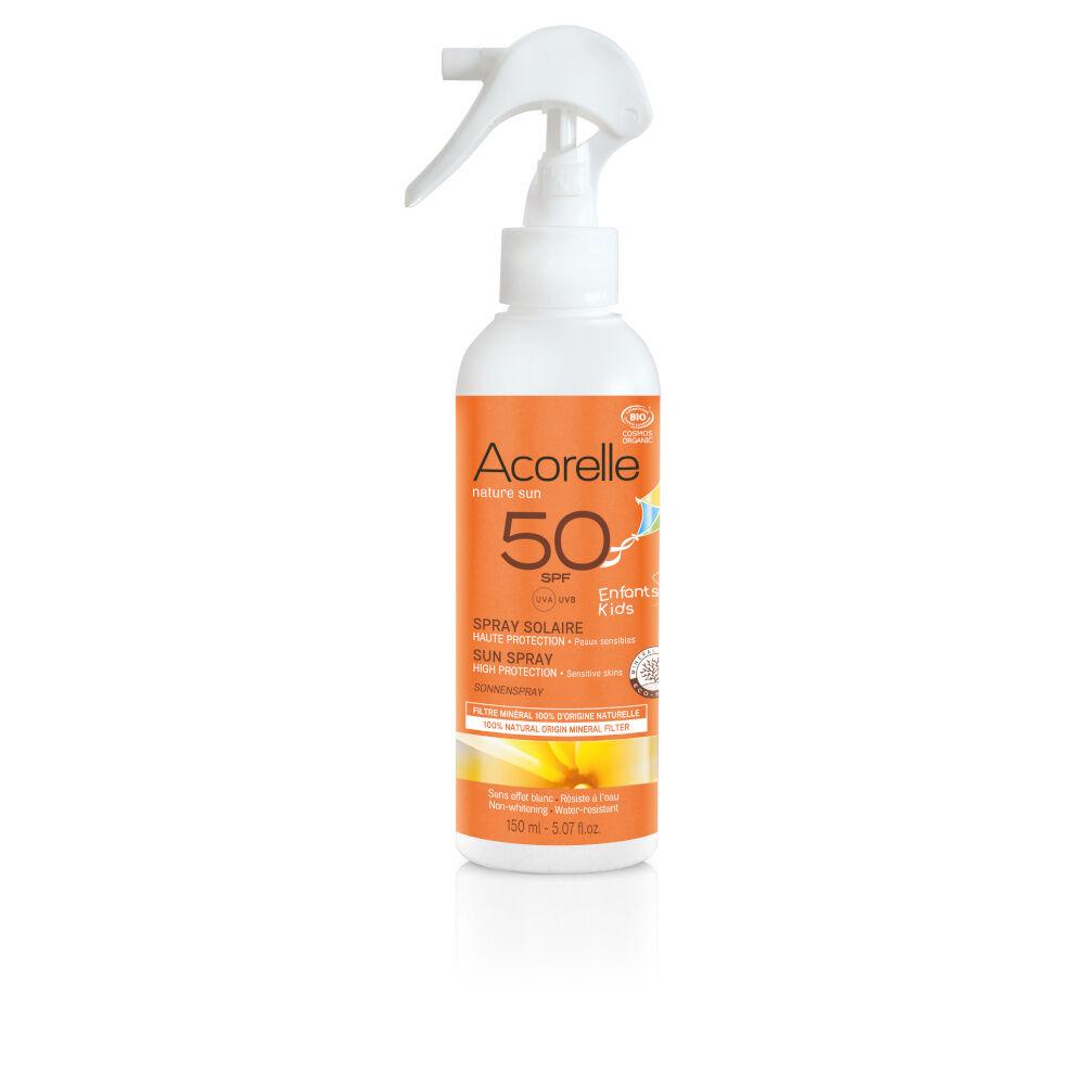 acorelle Produits Solaires Spray Solaire Enfants SPF50