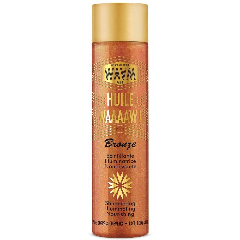 waam Les ingrédients cosmetiques Huilescintillante - WAAAAW!  100ml