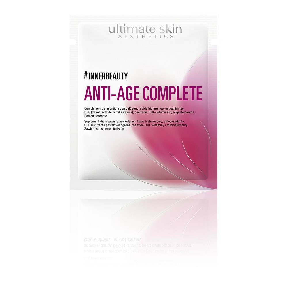#INNERBEAUTY ANTI-AGE COMPLETE Complément alimentaire poudre anti age