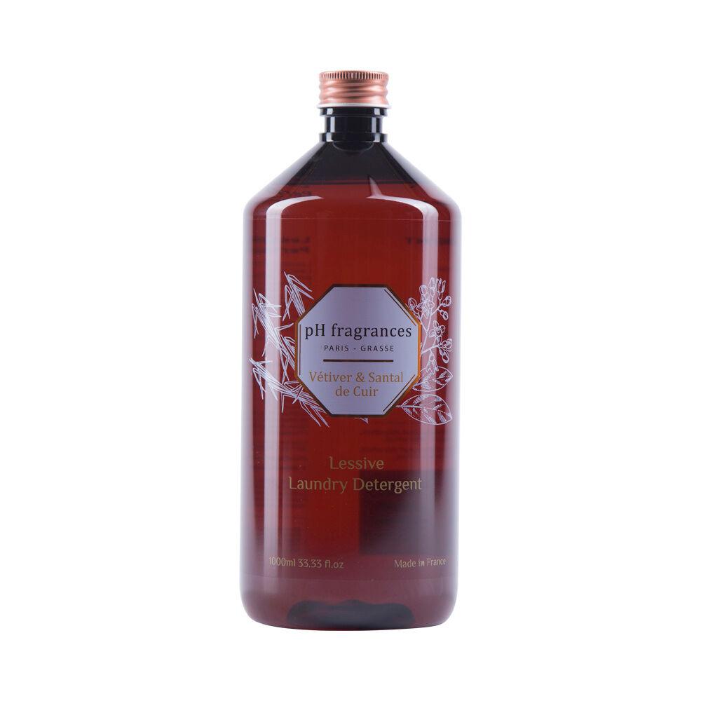 pH fragrances Vétiver&Santal de Cuir Lessive 1 l