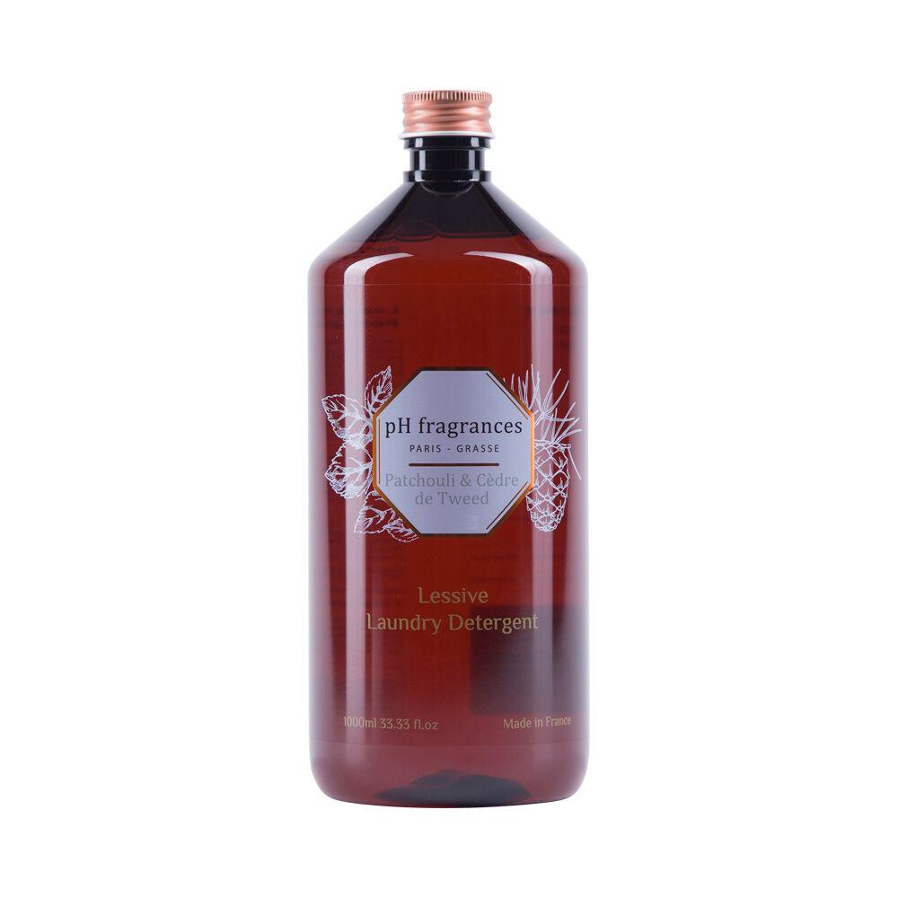 pH fragrances Patchouli&Cèdre de Tweed Lessive 1 l